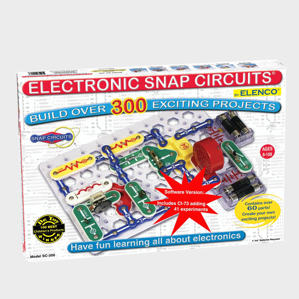 Electronic Snap Circuits - 300-in-1 with Computer Interface