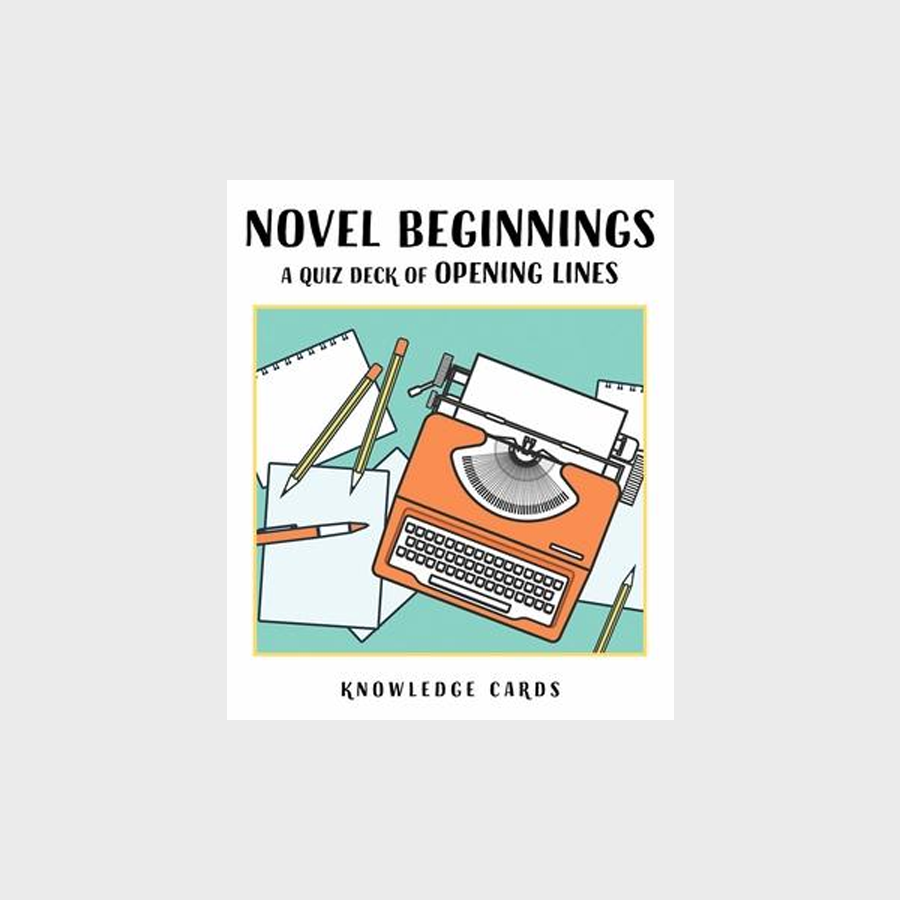 Novel Beginnings: Opening Lines Knowledge Cards