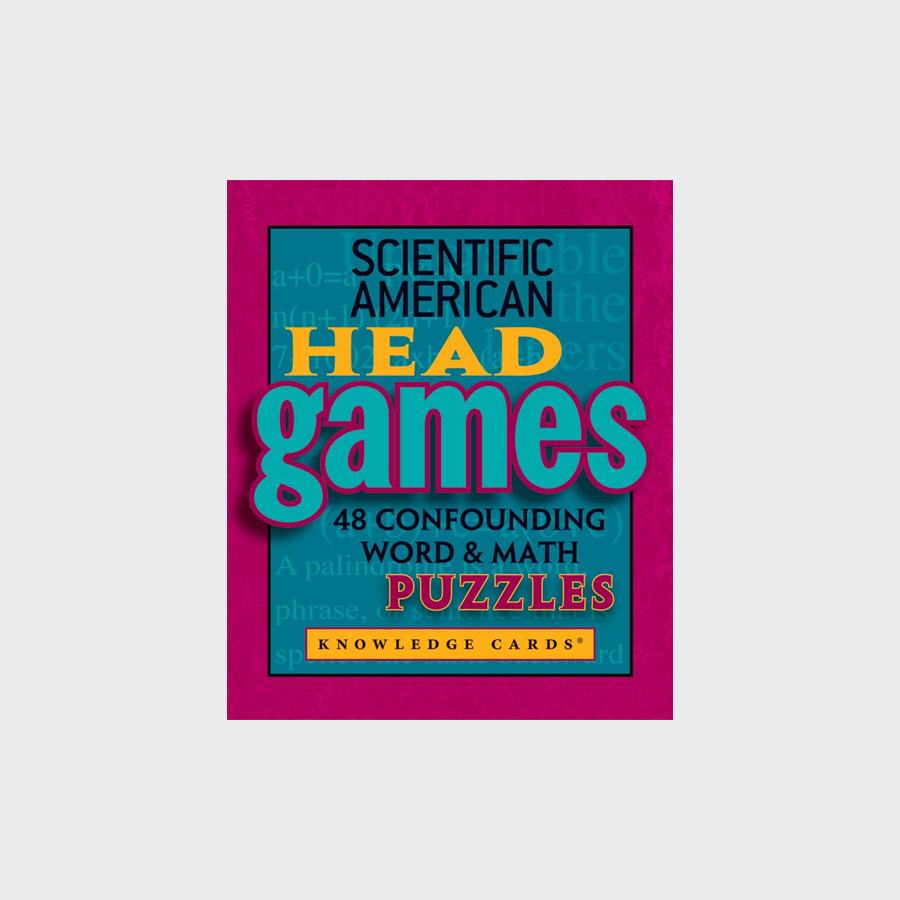 Scientific American Head Games: Knowledge Cards