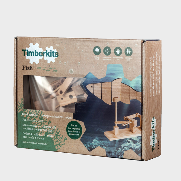 Timberkits Wooden Fish