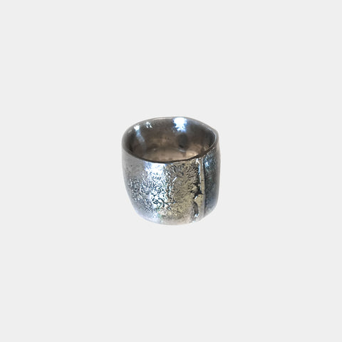 Reticulated Band Ring