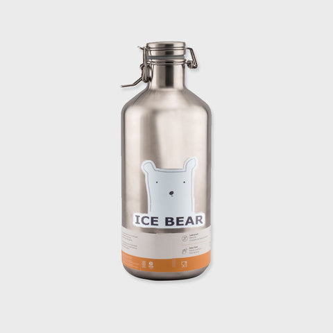 Klean Kanteen - Brushed Stainless Insulated Growler 64oz