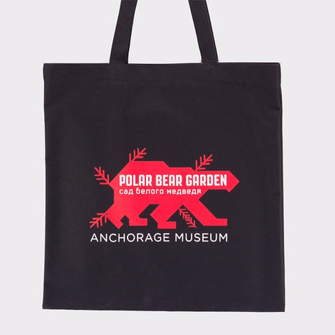 Polar Bear Garden Tote Bag