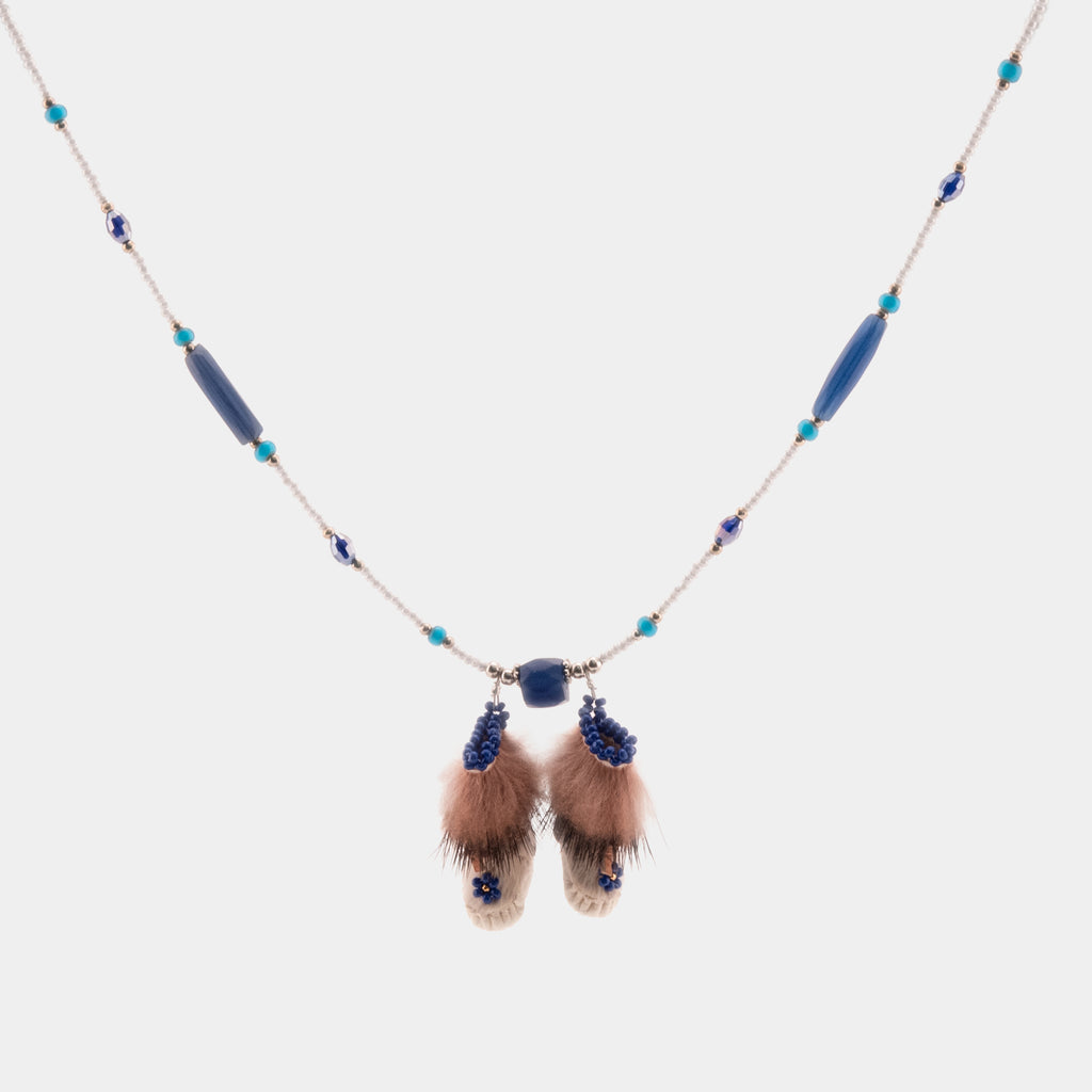 Double Mukluk Necklace