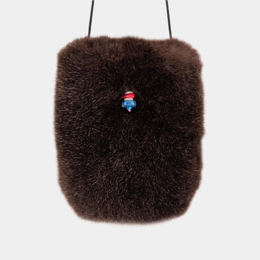 Seal and Sea Otter Fur Pouch