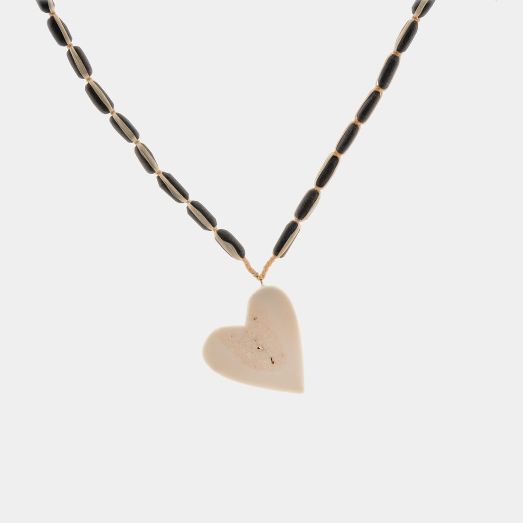 Ivory Heart Necklace