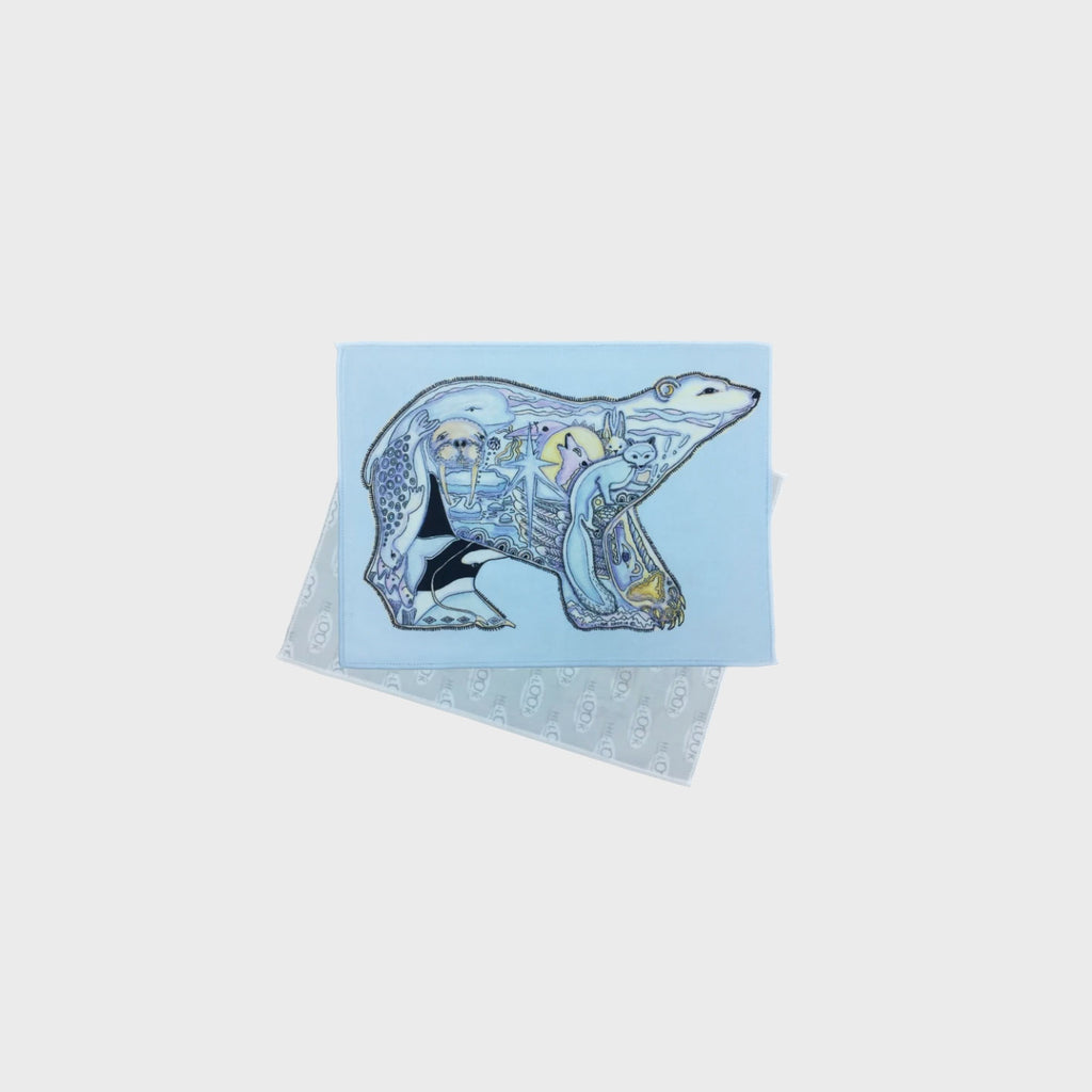 Arctic Animal Eyeglass Wipes