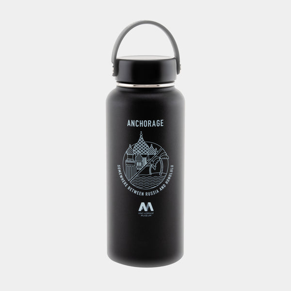 Hydro Flask 32oz Waterbottle - Somwhere Between Russia and Honolulu