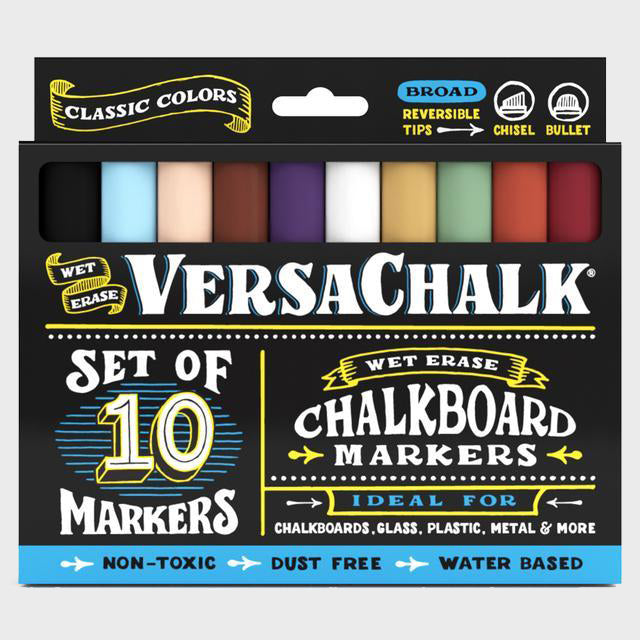 Chalk Markers - Classic Bold - 10 Set