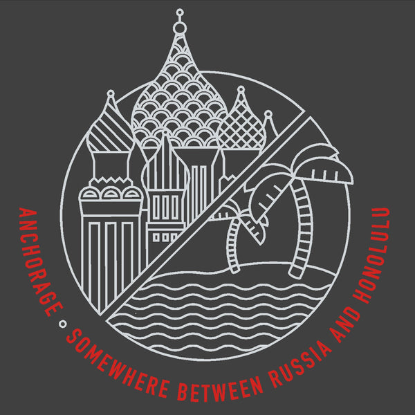 T-Shirt: Between Russia and Honolulu, Men's