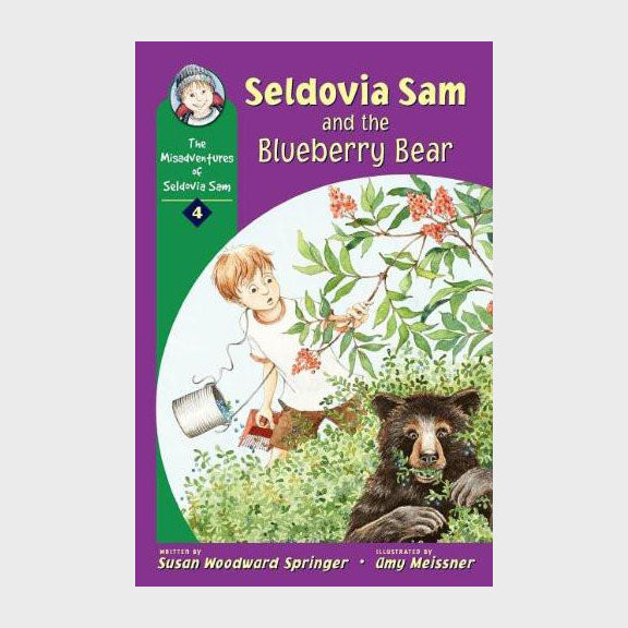 Seldovia Sam and the Blueberry Bear by Susan Woodward Springer