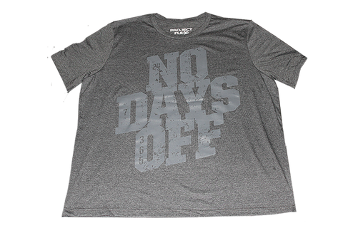 NO DAYS OFF Crew Neck, Dark Heather