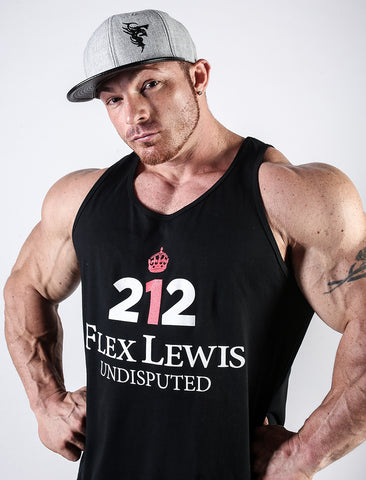 Limited Edition 212 Undisputed Men's Tank, Black