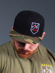 Flex Badge Snapback Camo