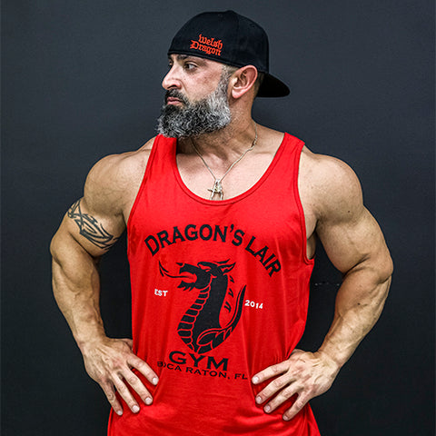 Red Dragons Lair Gym Tank Top