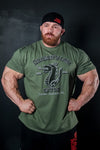 Army Green Dragons Lair Gym T-Shirt