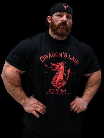 Black Dragon's Lair Gym T-Shirt