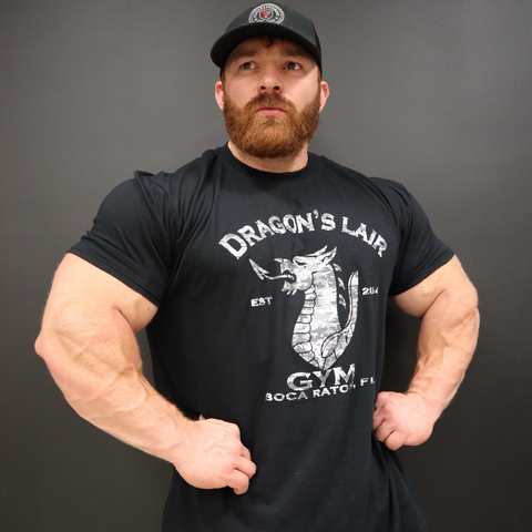 Black Digi Camo Dragons Lair Gym Shirt