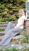 Embroidered Trousers Trousers - Feather and Bone London