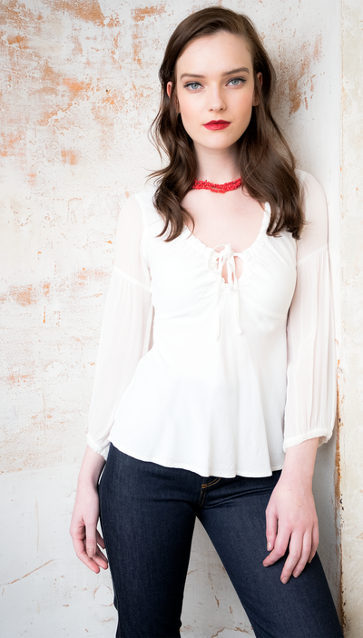 Penny Lane Blouse - Feather and Bone London