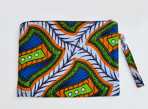 Kwaai Safari Square Clutch