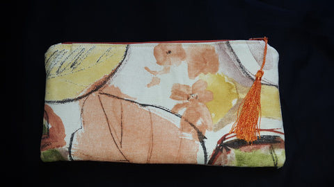 Fabric Clutch Bag
