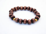 Dark Wood Stained Bracelet