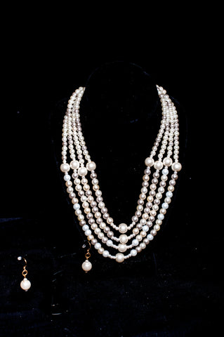 Lida Necklace and Earring Set