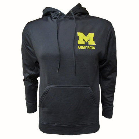 Army Logo Wicking Hoodie - Black / Maize