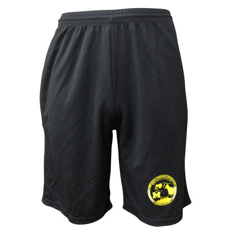 Unit Patch Shorts w/ Pockets - Black