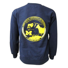 Unit Patch Crew Neck Sweatshirt - Navy