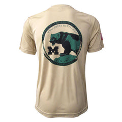 Unit Patch Performance T-Shirt - Vegas Gold