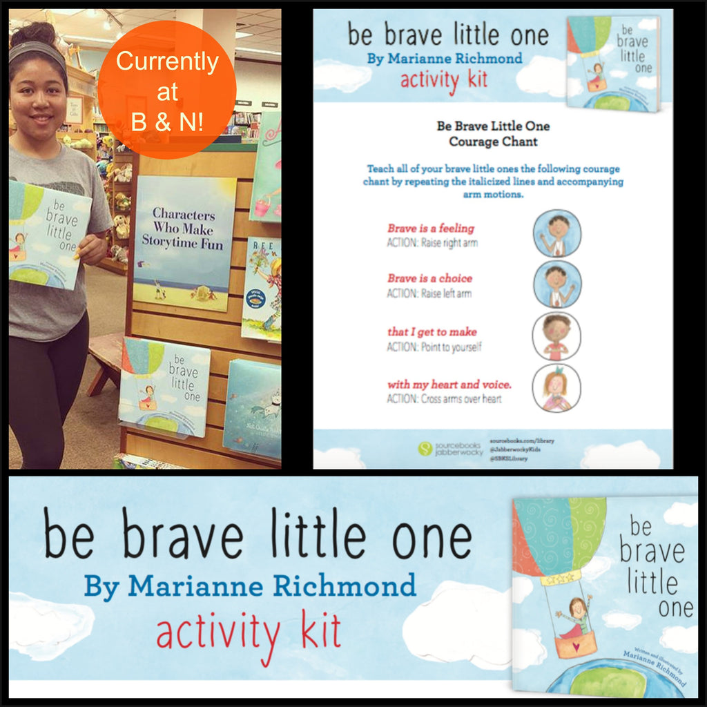 Be Brave Little One Activity Kit!