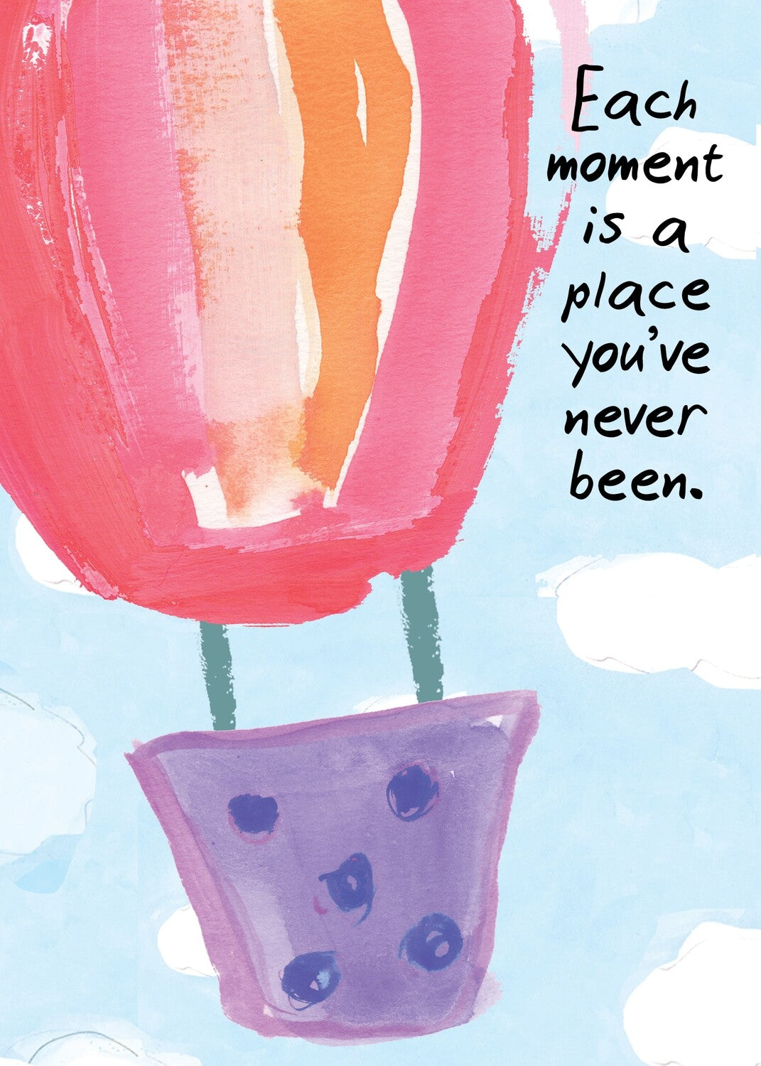 BIRTHDAY CARD - Each Moment
