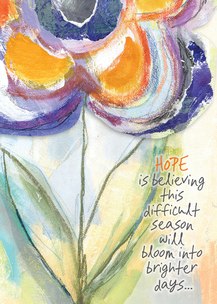 ENCOURAGEMENT CARD - Hope is Believing