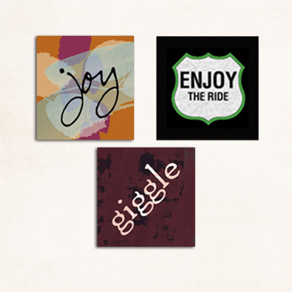 Joy • Enjoy the Ride • Giggle Gift Set
