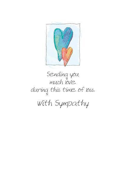 SYMPATHY CARD - Only Love