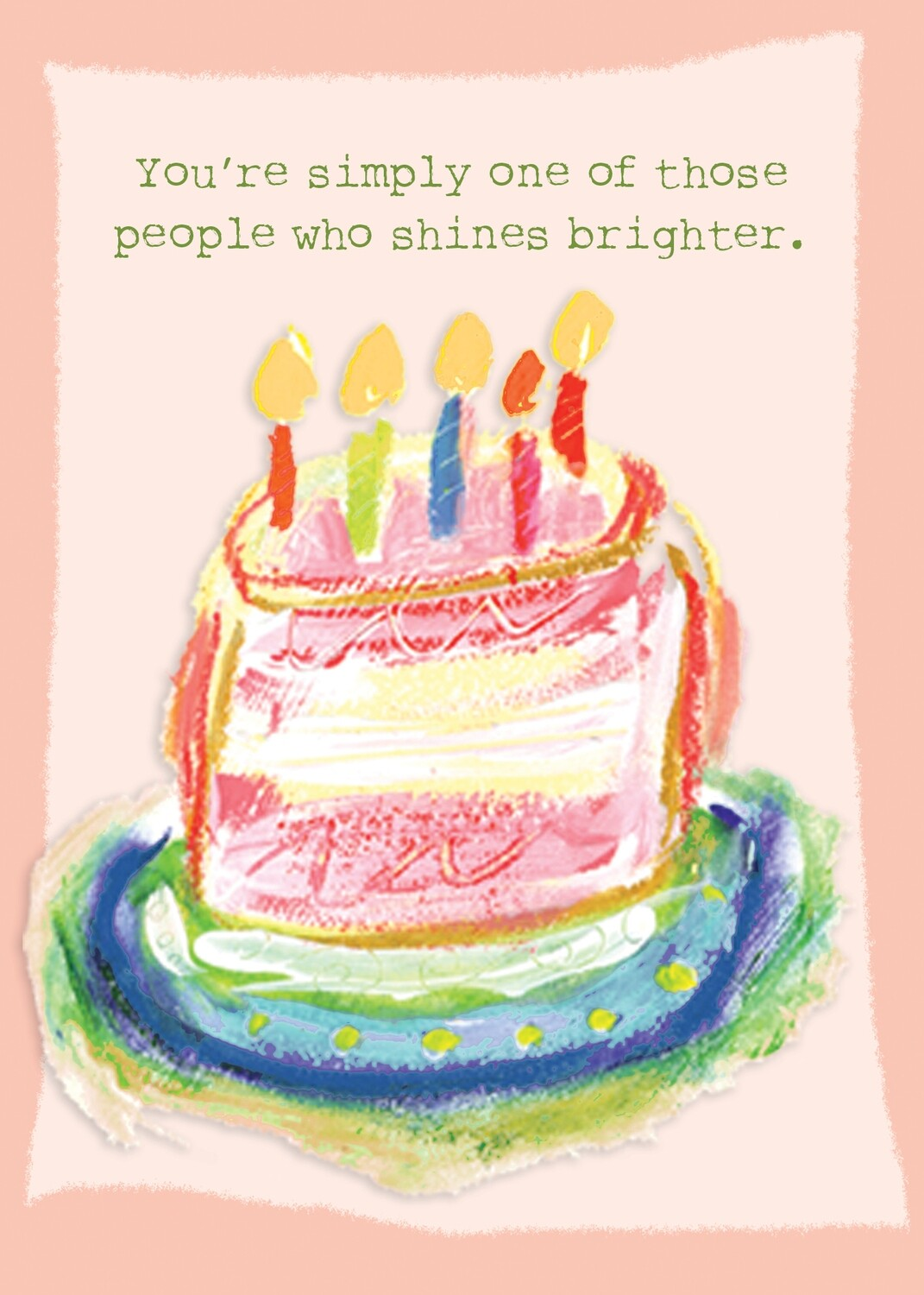 BIRTHDAY CARD - One of those People