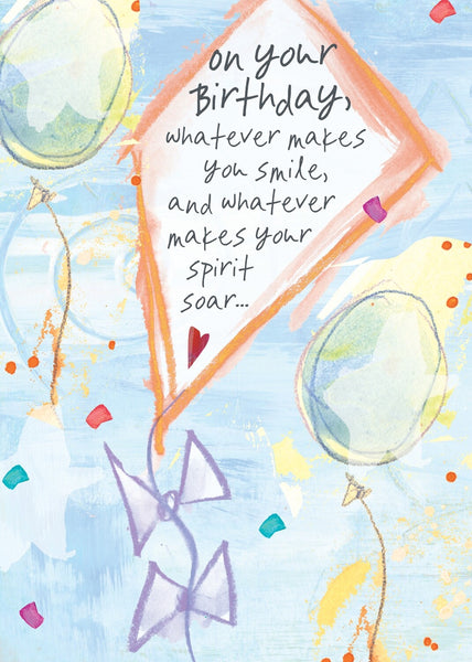 BIRTHDAY CARD - Whatever Makes You Smile