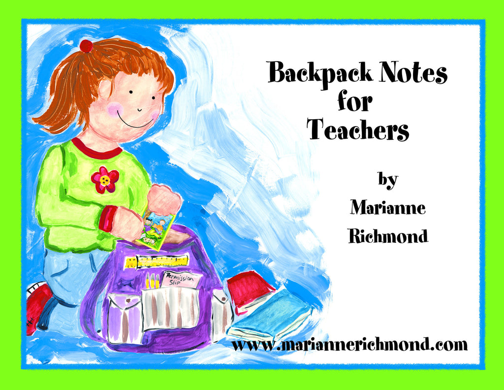 Backpack Notes (Digital Download)