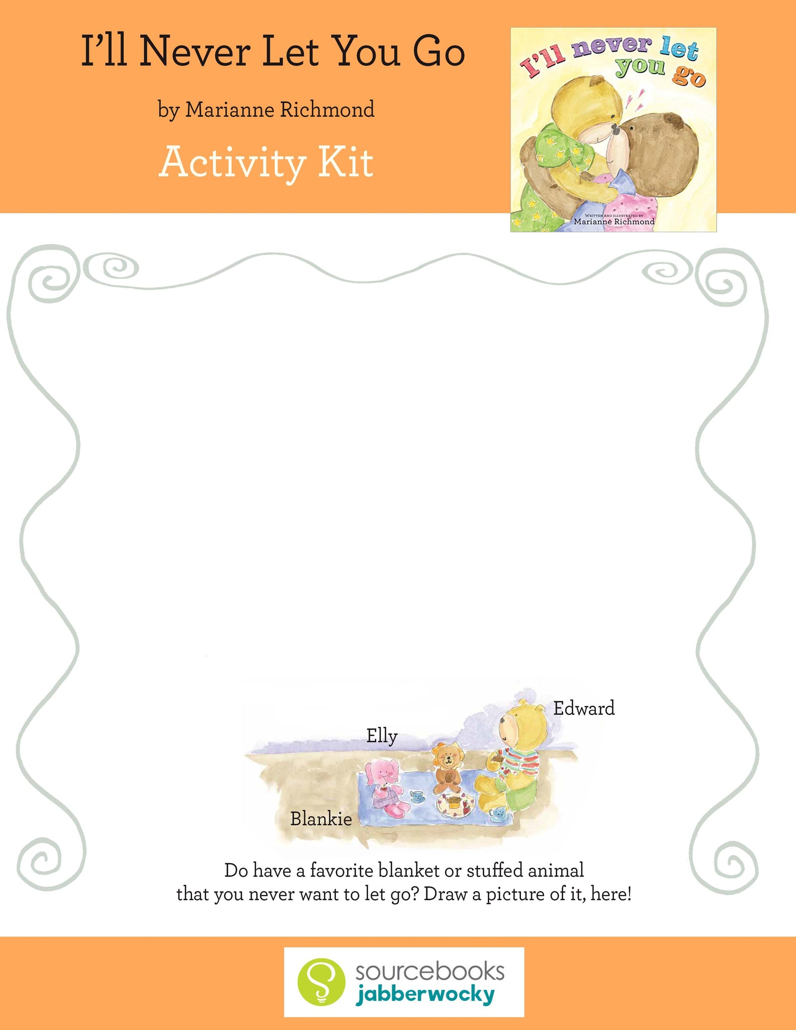 I'll Never Let You Go Activity Kit (Digital Download)