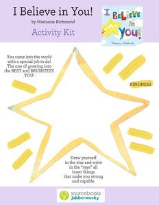 I Believe in You Activity Kit (Digital Download)