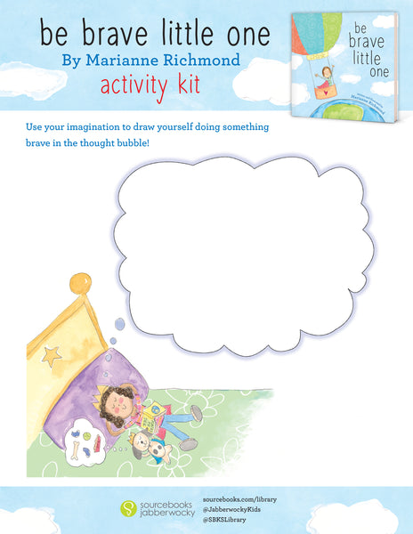 ACTIVITY KIT - Be Brave Little One (Digital Download)