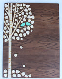 Aspen/Birch Tree of Life DIY Kit~A Wedding Guestbook Alternative~65 leaves