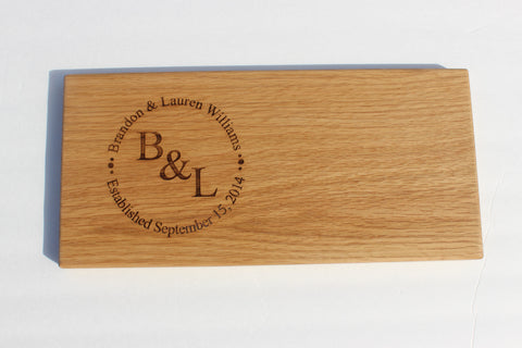 Engraved Cutting Boards~Circular Design