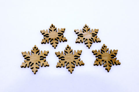 Mini Snowflake Ornaments~Set of 5