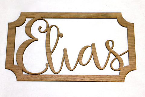 Child's Name Sign