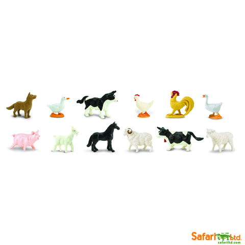 Farm Animals - 48 Piece set