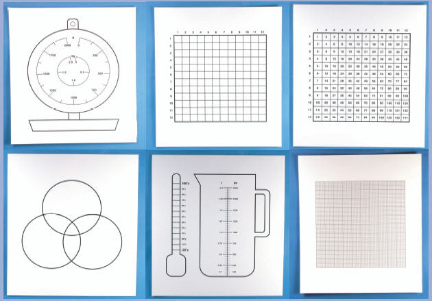 Maths Table Top Interactive Sheets