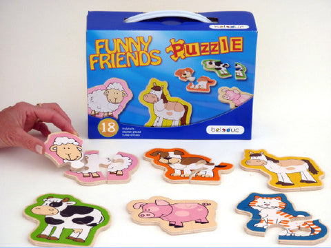 Funny Friends Puzzle